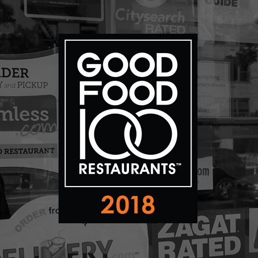 Announcing 2018 Good Food 100 Restaurants™
