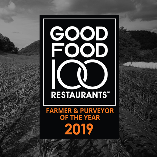 Announcing 2019 Good Food Farmer & Purveyor of the Year